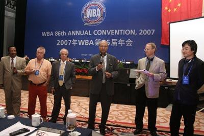 86th WBA Annual Convention Chengdu, China, THIRD DAY