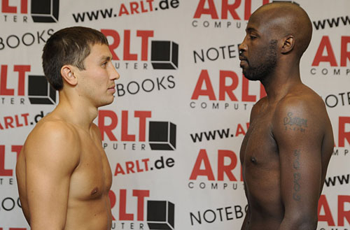 Golovkin-Simon make weight