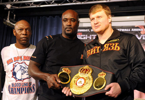 Povetkin-Boswell face to face