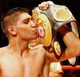 Amir Khan - WBA SUPER LIGHTWEIGHT WORLD CHAMPION