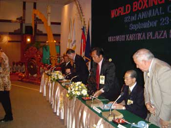WBA 82nd Annual Convention Bali - Indonesia 2003
