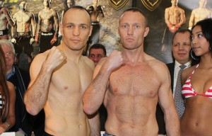 Magee-Markussen make weight