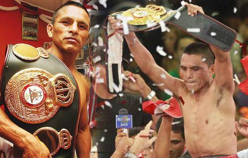 Alberto Rossel WBA Champion