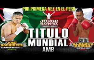 Minimum Interim World Title Fight in Lima