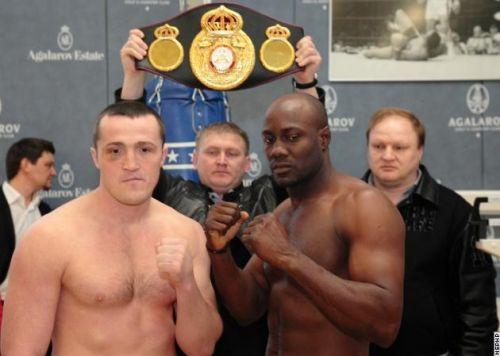 Denis Lebedev vs Shawn Cox - WBA