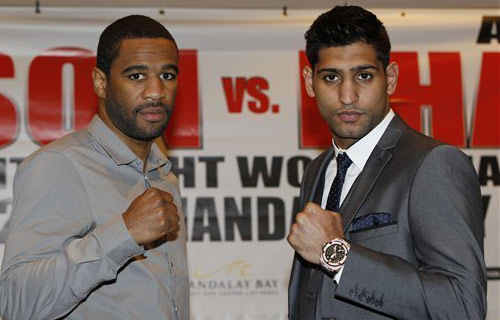 Presser: Peterson - Khan in London
