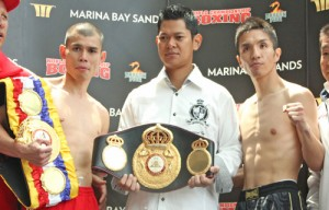 John, Kimura make weight