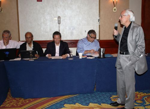 Gilberto Mendoza - WBA Directorate meeting took off in Miami
