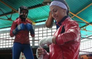 """Ogleidis """"La niña"""" Suárez WBA Female Campion"""