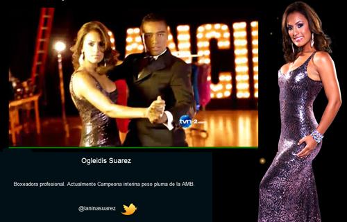 """La Niña"" Suarez goes Dancing with the Stars in Panama"