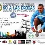 Iinvitación KO a las Drogas, Ciudad de Panamá 2012
