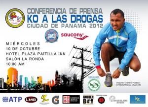 KO a las Drogas, Ciudad de Panamá 2012