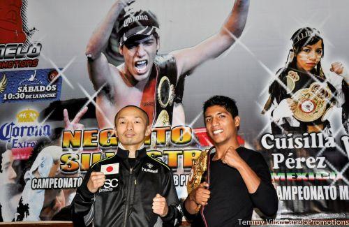 Jesús Silvestre probará a su rival japonés que es un campeón sólido