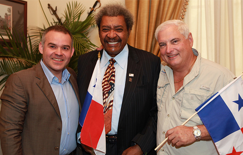 Shot of the day / Don King in Panama City