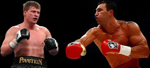 Comienzan negociones para Klitschko vs Povetkin