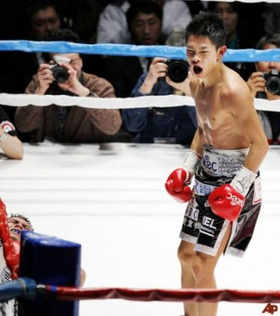 Ioka nombrado boxeador del año en Japón