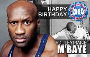 Happy Birthday to former champion M'baye
