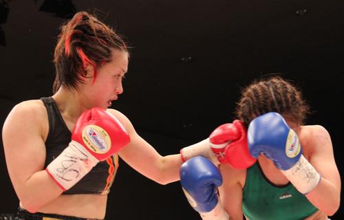 Photo / Miyao vs Akitaya WBA Female Light Minimum