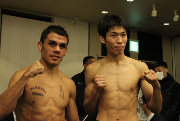Reveco vs Kuroda ready to fight in Japan