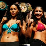 From Denmark Braekhus vs. St. John official Weigh-in