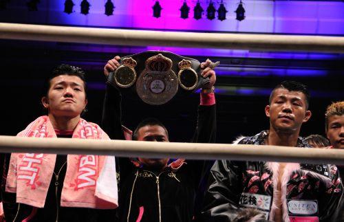 Kameda Barely Keeps WBA Bantam Belt