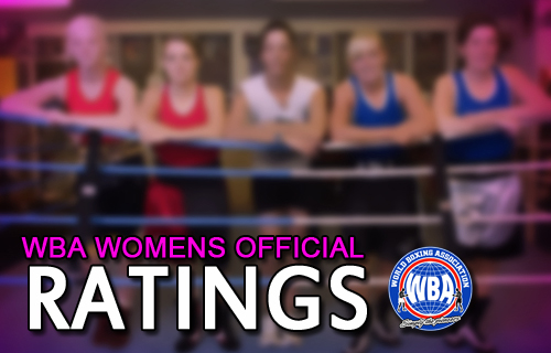 WBA Women Ratings January 2016
