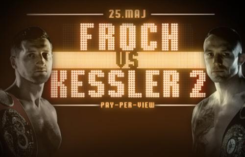 "Froch sees Mikkel Kessler rematch as a ""50-50"" fight"