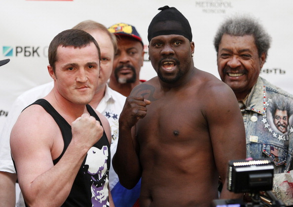 Denis Lebedev v Guillermo Jones – Weigh-In