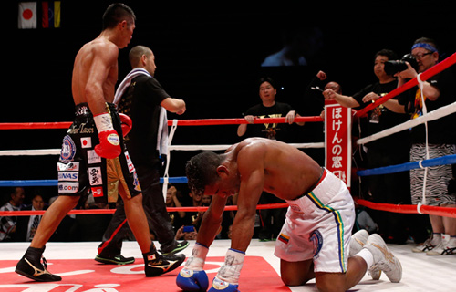 Venezolano Jaider Parra cayó en cinco rounds
