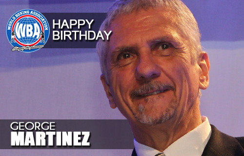 AMB Felicita a George Martinez hoy dia de su cumpleanos
