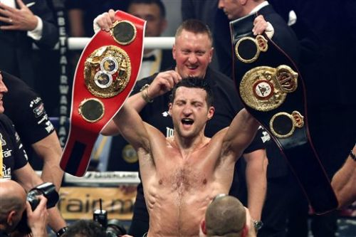 British Carl Froch WBA Boxer of the Month