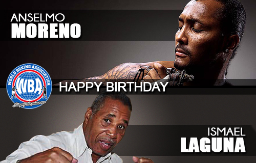 "Happy Birthday Ismael Laguna and ""Chemito"" Moreno"