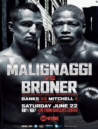 LIVE: Weigh-in Malignaggi vs Broner | 12:30PM ET / 9:30AM PT