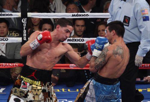 Danny García retuvo su título ante Mathysee