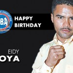 Happy birthday to former champion Eidy Moya