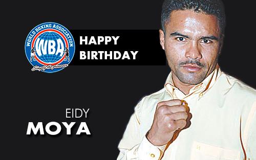 Feliz cumpleaños al ex campeón Eidy Moya