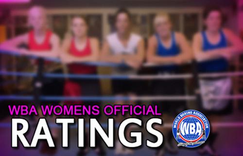 WBA Women Ranking August 2013