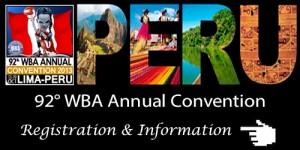 92° WBA Annual Convention – Invitation