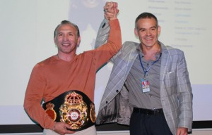 Boom Boom Mancini es declarado Súper Campeón de por vida