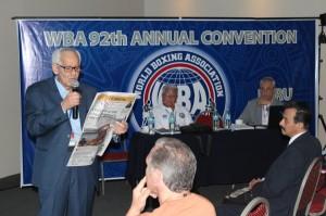 Gilberto Mendoza WBA President