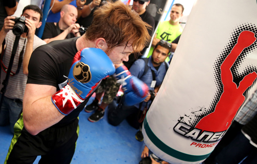 "Saúl ""Canelo"" Álvarez: ""I do not train for a good show, but to win"""
