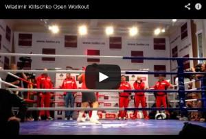 Wladimir Klitschko Open Workout