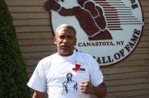 Hilario Zapata at Boxing Hall of Fame