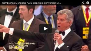 Video: WBA Champions, october 2013