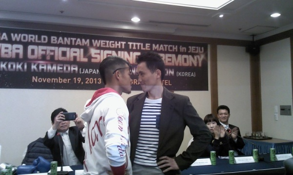 Photos: Koki Kameda - Jong-Oh Son Face to Face in Korea