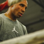 Andre Ward in Training Camp in Preparation for Fight with Edwin Rodriguez