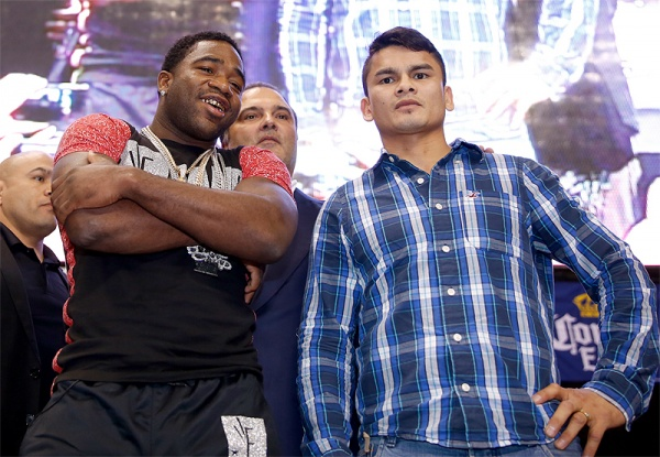 Adrien Broner, Marcos Maidana and the Danger Zone Fighters Meet The Press at the Alamodome