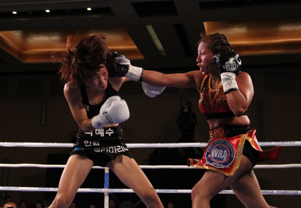 Photos: Anabel Ortiz – Hye Soon Park World Title Fight