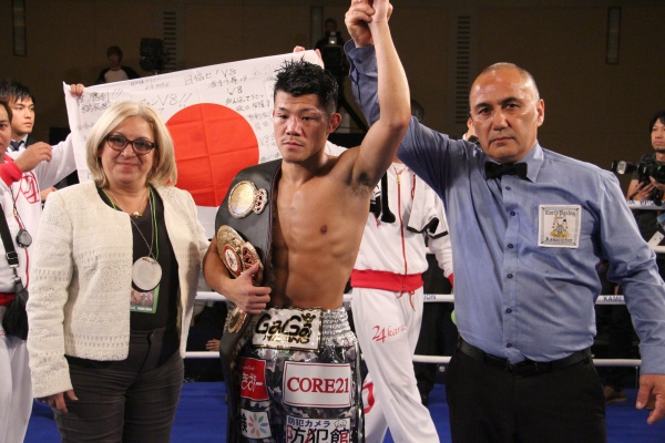 Photos: Kameda - Oh Son World Title Fight