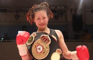 Ayaka Miyao WBA Female Champion